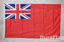 "RED ENSIGN - 18"" x 12"" WITH ROPE & TOGGLE (45cm x 30cm)"